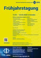 Tagungsplakat Dresden 2020