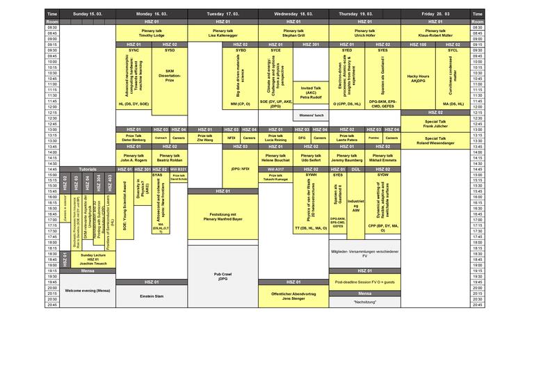 Timetable Dresden